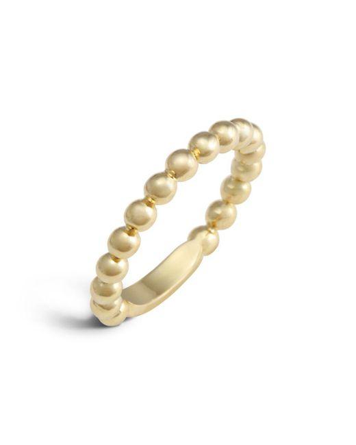 Lagos - Metallic 18k Gold Stacking Ring - Lyst