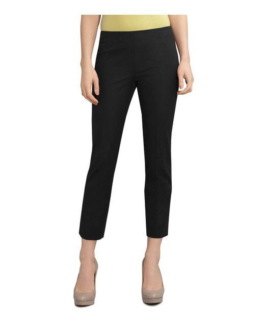 Lafayette 148 New York | Black Jodhpur Cloth Cropped Bleeker Pants | Lyst