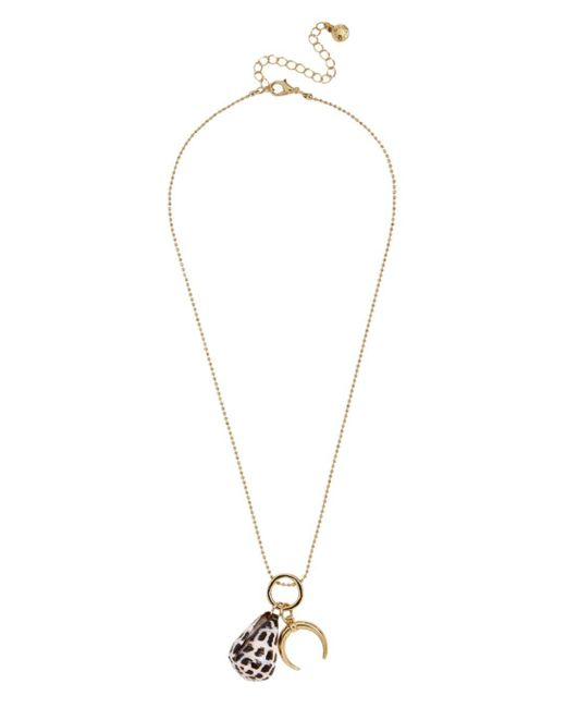 BaubleBar Metallic Santorini Pendant Necklace
