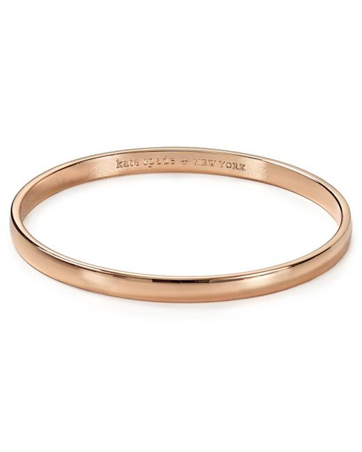 Kate Spade Pink Stop And Smell The Roses Idiom Bangle