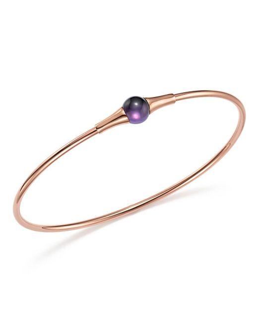 Pomellato - Multicolor M'ama Non M'ama Bracelet With Amethyst In 18k Rose Gold - Lyst