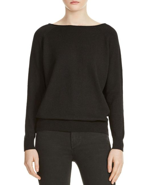 Maje - Black Macademia Chain-back Sweater - Lyst