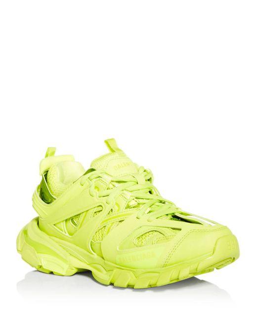 Balenciaga Green Track Low Top Sneakers