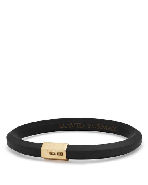 David Yurman - Hex Bracelet In Black With 18k Gold, 10.5mm for Men - Lyst
