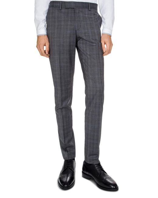 The Kooples - Gray Christmas Costume Slim Fit Trousers for Men - Lyst
