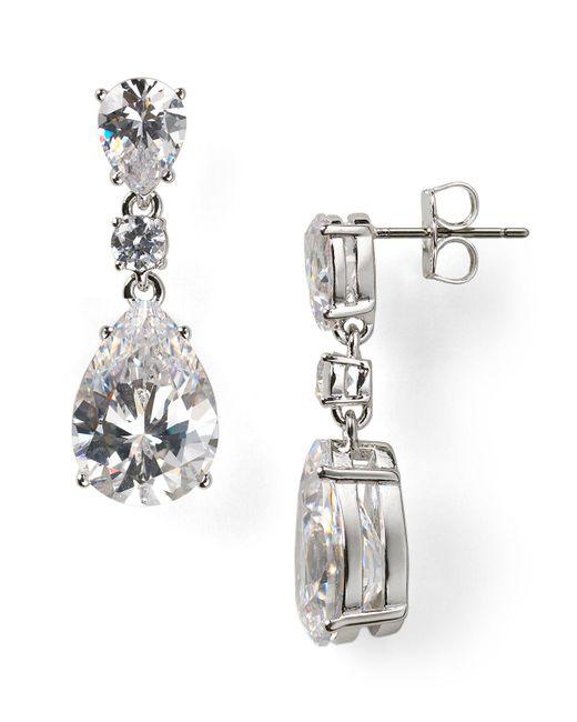 Nadri | Metallic Teardrop Earrings | Lyst