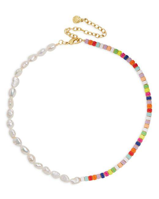 BaubleBar White Ellie Multicolor Collar Necklace