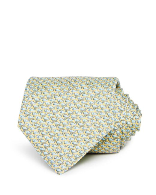 Vineyard Vines - Yellow Whale Classic Tie for Men - Lyst