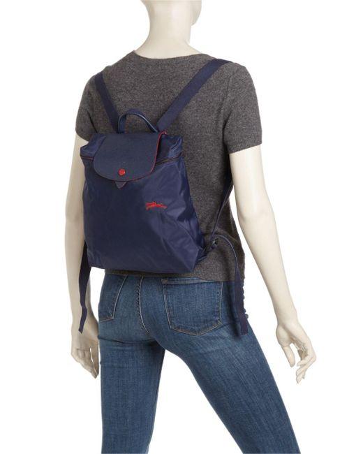 Longchamp Synthetic Le Pliage Club Nylon Backpack - Lyst