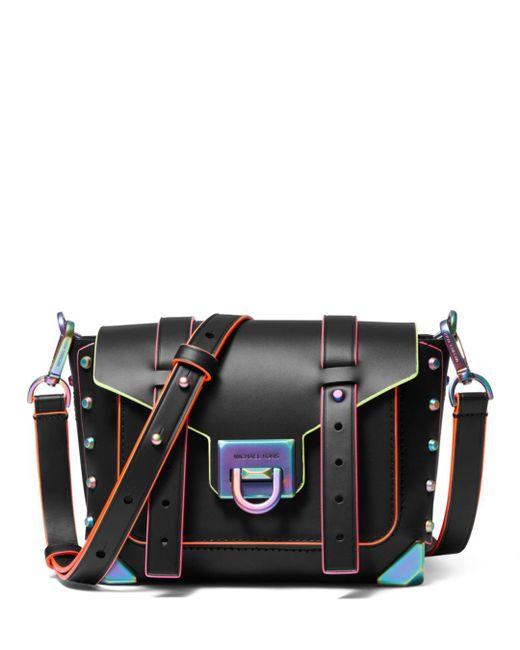 MICHAEL Michael Kors Black Manhattan Small Leather Bag