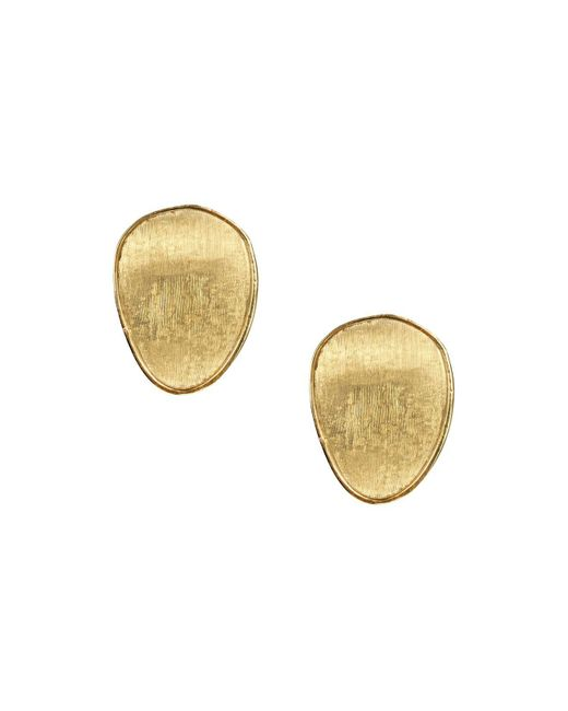 Marco Bicego - Metallic 18k Yellow Gold Lunaria Stud Earrings - Lyst