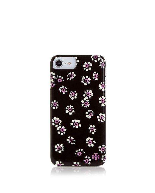 Tory Burch | Black Printed Hardshell Iphone 7/8 Case | Lyst