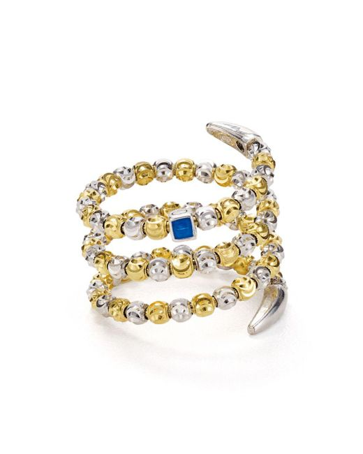Officina Bernardi - Metallic Coil Ring - Lyst