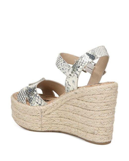 0e8144bfab2 White Women's Maura Espadrille Wedge Sandals