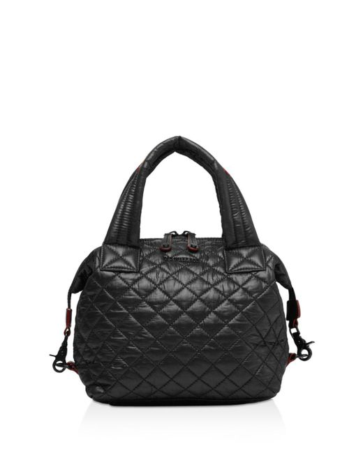 MZ Wallace - Black Small Sutton Bag - Lyst
