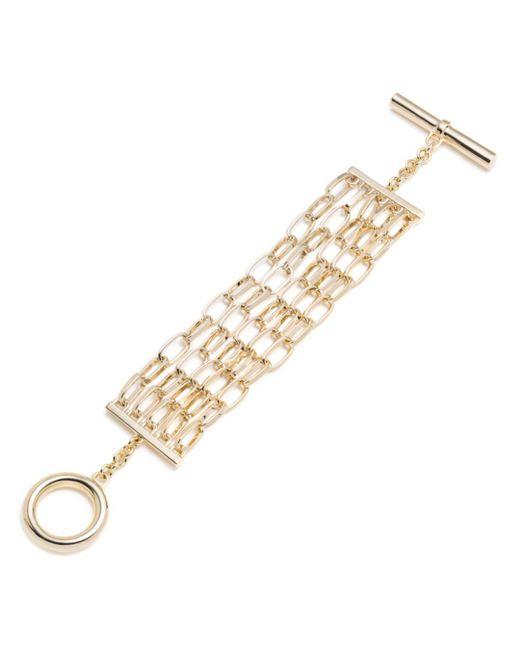 Ralph Lauren - Metallic Lauren Ring & Toggle Bracelet - Lyst