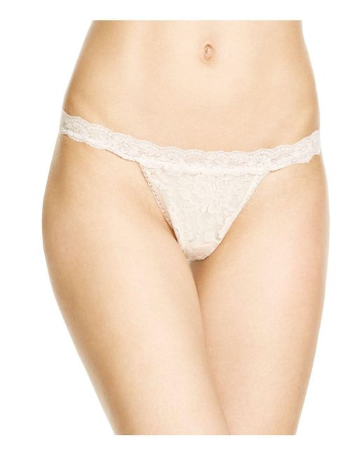 Hanky Panky | Black Signature Lace G-string | Lyst