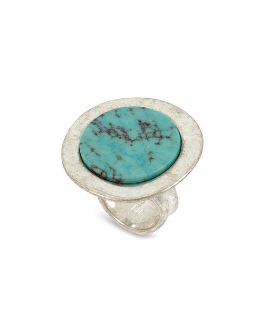 Robert Lee Morris - Metallic Turquoise Statement Ring - Lyst