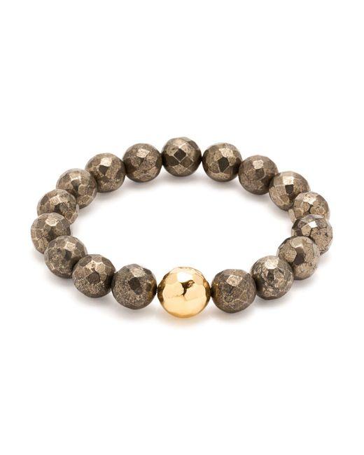 Gorjana - Brown Power Gem Statement Bracelet - Lyst