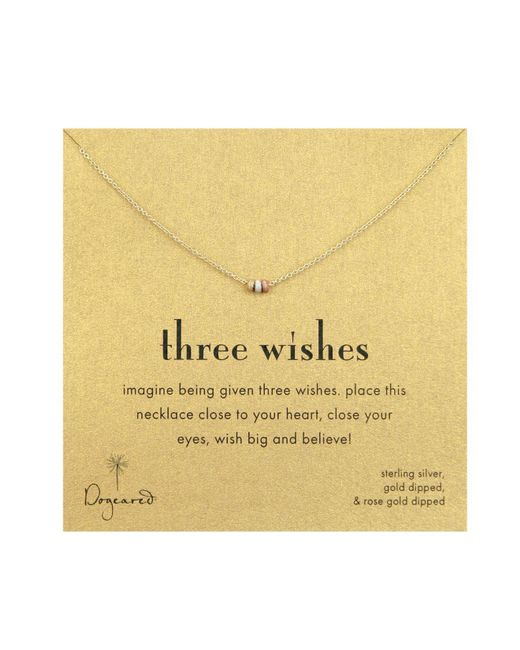 Dogeared | Multicolor Three Wishes Multi Metal | Lyst