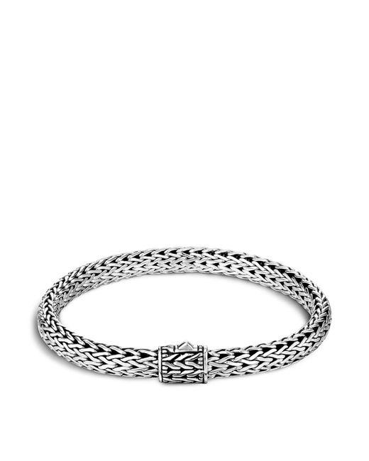 John Hardy | Metallic Men's Sterling Silver Small Chain Bracelet for Men | Lyst