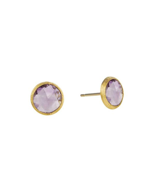 Marco Bicego - Purple Jaipur Amethyst Stud Earrings - Lyst