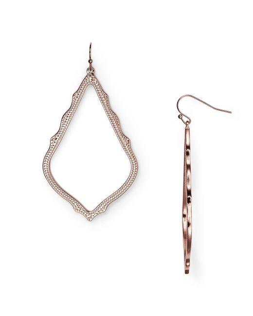 Kendra Scott Metallic Sophee Drop Earrings