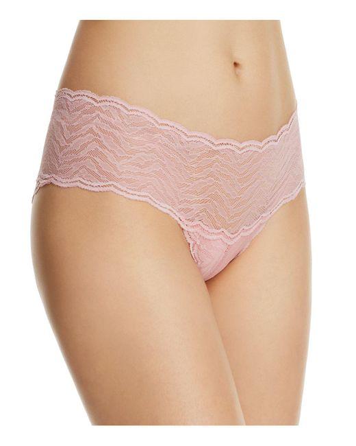 Cosabella - Pink Sweet Treats Zebra Hotpant - Lyst