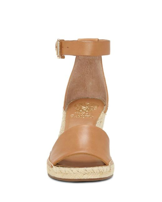 48b3d3f2b47 Vince Camuto Leera Espadrille Wedge Sandal Tan 11 Medium Us in Brown ...
