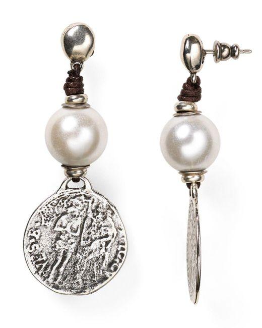 Uno De 50 Metallic Alexandria Earrings