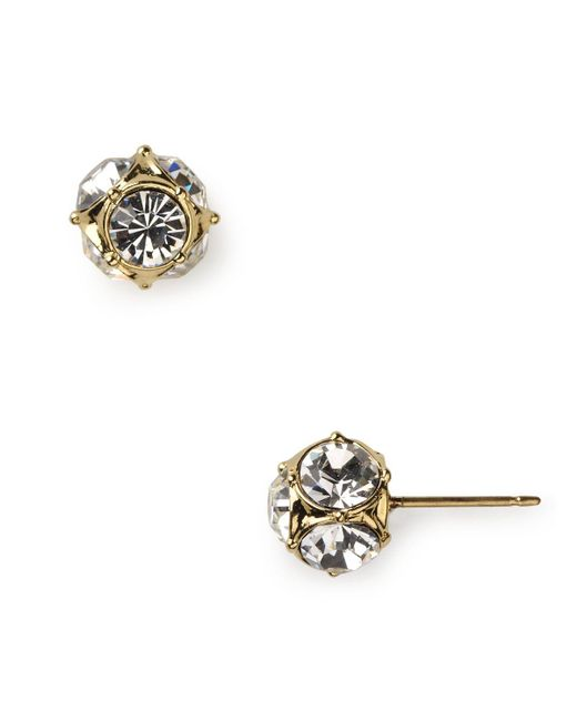 kate spade new york | Metallic Lady Marmalade Stud Earrings | Lyst
