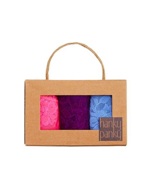 Hanky Panky | Purple Set Of 3 | Lyst