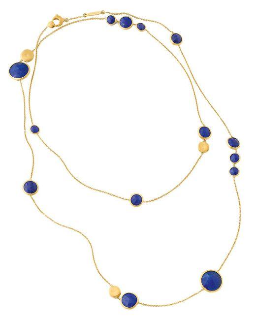 "Marco Bicego   Metallic Jaipur Lapis Necklace, 36""   Lyst"