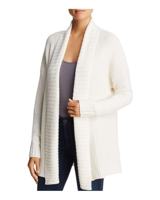 Three Dots | Multicolor Open Front Cardigan | Lyst
