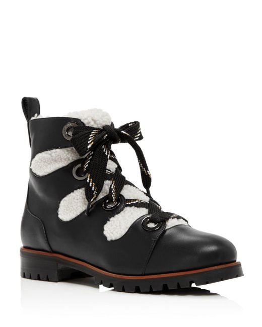 Jimmy Choo Black Bei Leather Boot