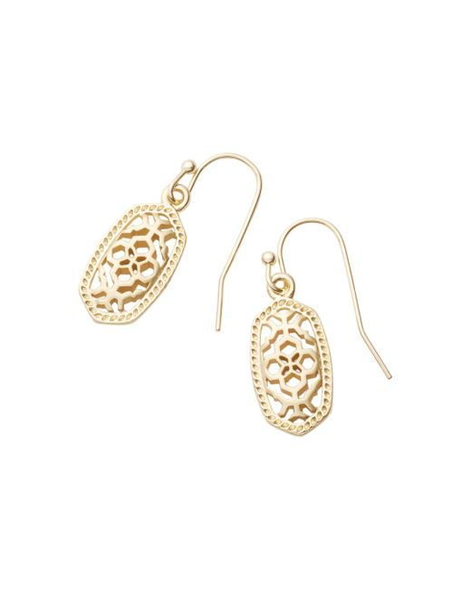 Kendra Scott - Metallic Lee Filigree-inspired Earrings - Lyst