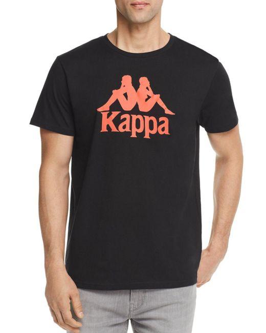 Kappa - Black Authentic Estessi Crewneck Tee for Men - Lyst