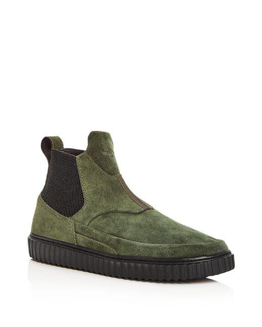 Creative Recreation | Green Men's Scafati Suede Slip-on Sneakers for Men | Lyst