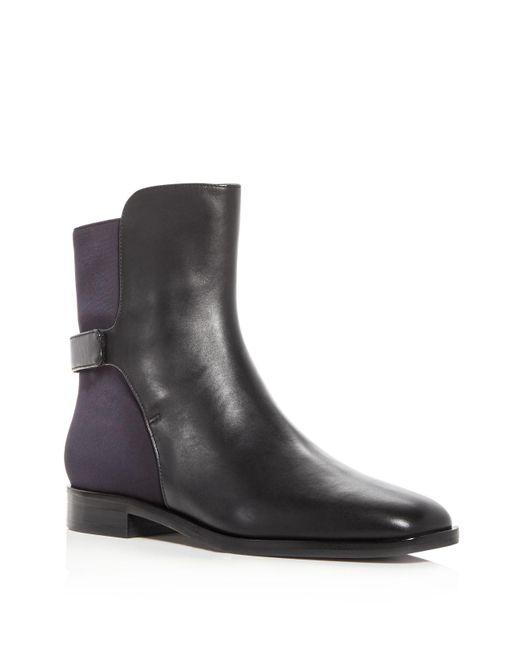 Via Spiga - Black Women's Vaughan Leather Booties - Lyst