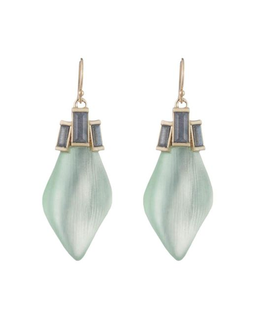 Alexis Bittar - Multicolor Baguette Drop Earrings - Lyst