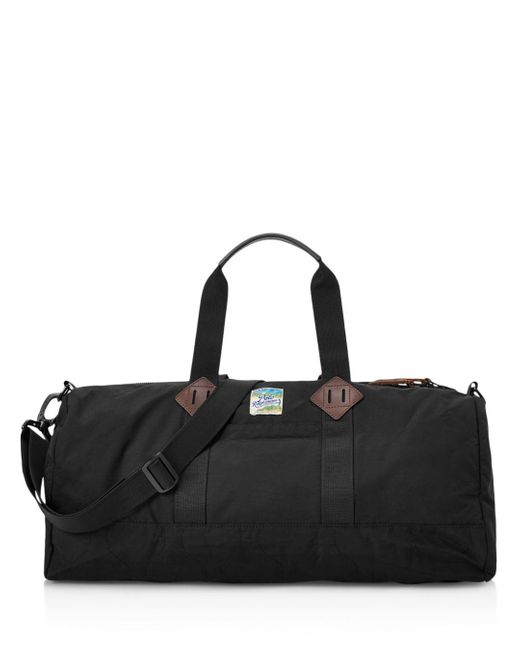 Polo Ralph Lauren Black Lightweight Mountain Duffel Bag for men