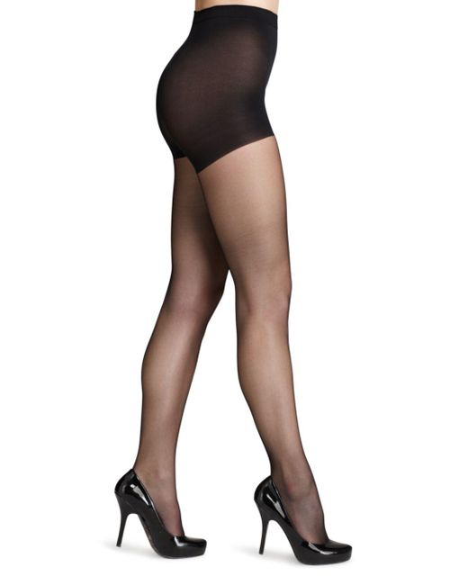Wolford Black Individual 10 Control Top Tights
