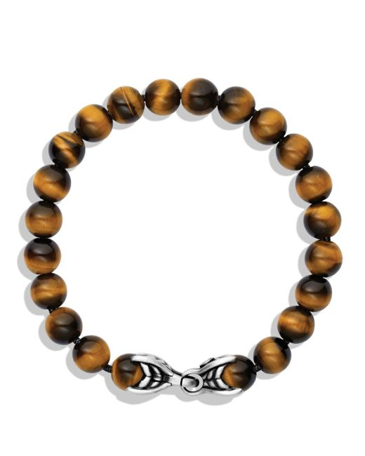 David Yurman Metallic Spiritual Beads Bracelet for men
