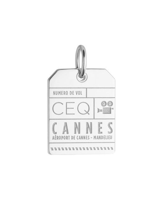 Jet Set Candy - Metallic Ceq Cannes Luggage Tag Charm for Men - Lyst