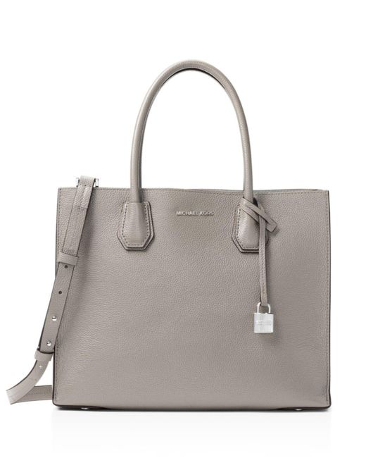 MICHAEL Michael Kors - Multicolor Mercer Convertible Large Leather Tote - Lyst