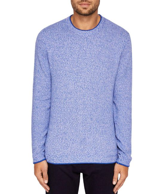 Ted Baker - Blue Cirkus Twisted Sweater for Men - Lyst