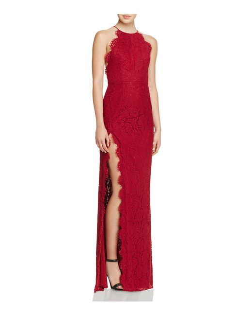Fame & Partners | Red Dragon Eyes Lace Gown | Lyst