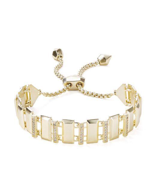 Kendra Scott | Metallic Harp Bracelet | Lyst