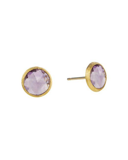 Marco Bicego | Purple Jaipur Amethyst Stud Earrings | Lyst