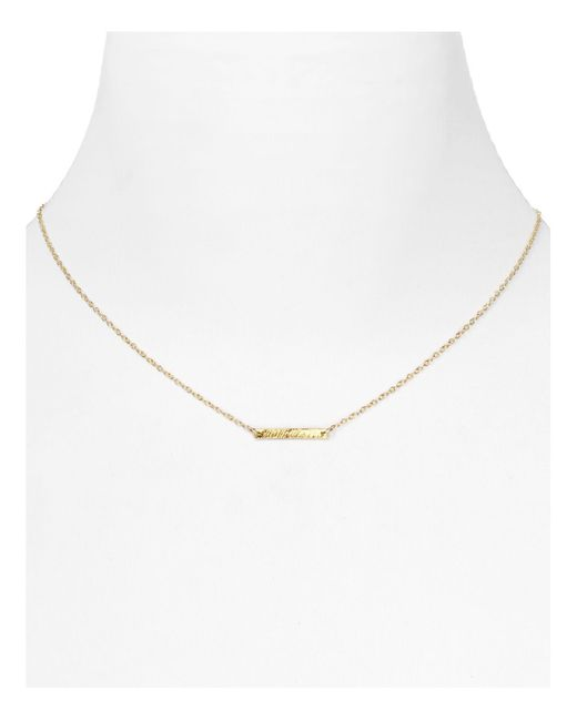 Gorjana | Metallic 18k Gold Plate Knox Necklace, 16"